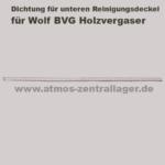 Dichtung des unteren Reinigungsdeckels für Wolf BVG
