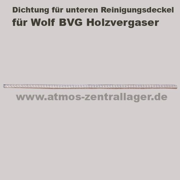 Dichtung für oberern Reinigungsdeckel für Wolf BVG Holzvergaser