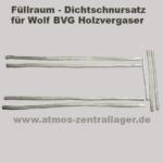 Füllraumdichtschnursatz für Wolf BVG