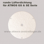 runde Lüfterdichtung für ATMOS GS / runde Lüfterdichtung für ATMOS SE