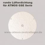 runde Lüfterdichtung für ATMOS GSE Holzvergaser