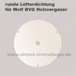 runde Lüfterdichtung für Wolf BVG