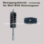 Reinigungsbürste der Brennkammer vom Wolf BVG