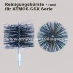 Reinigungsbürste des Abgaswärmetauschers für ATMOS GSX Holzvergaser
