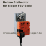 Belimo Stellantrieb für Sieger FBV