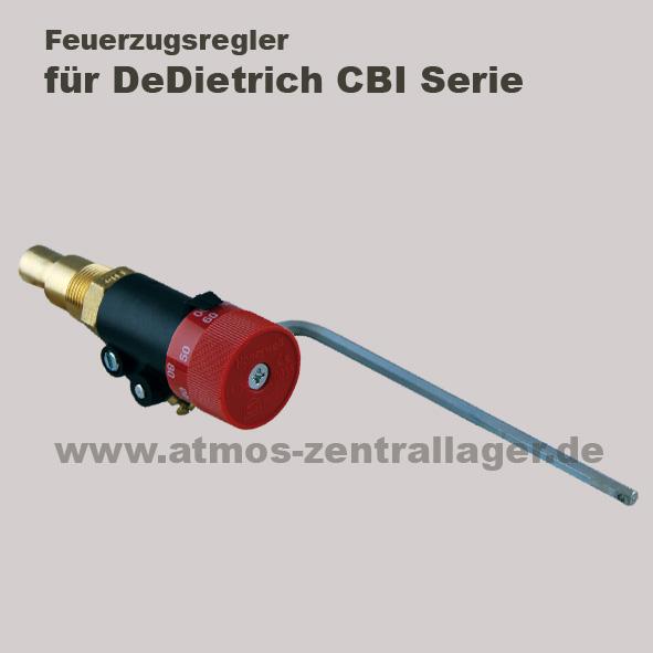 Feuerzugsregler für DeDietrich CBI Holzvergaser