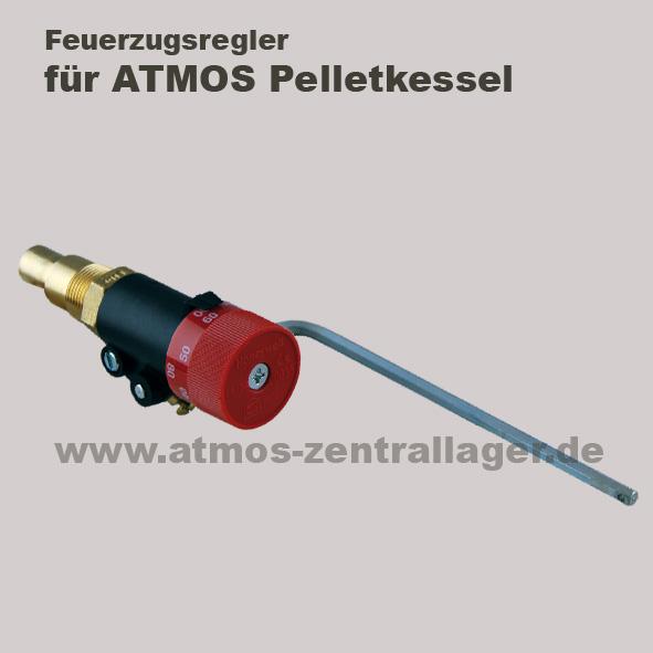 Feuerzugsregler für ATMOS Pelletkessel mit Holznotbetrieb