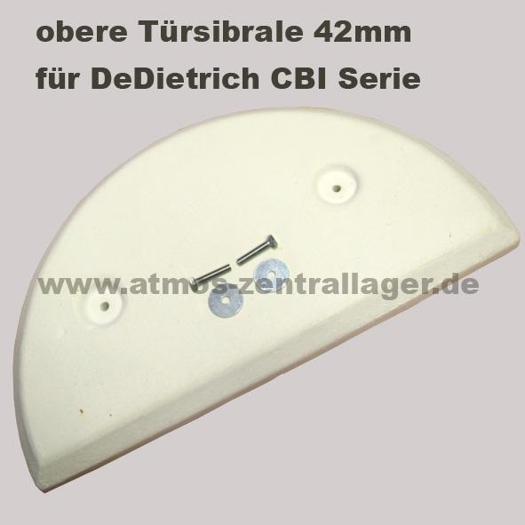obere Türsibrale 42mm für DeDietrich Holzvergaser