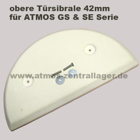 obere Türsibrale 42mm für ATMOS Holzvergaser