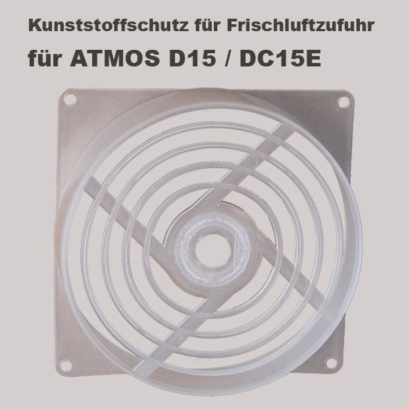 Kunststoffschutz für Frischluftzufuhr für ATMOS DC15E