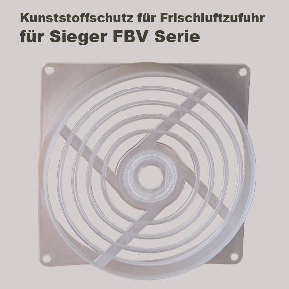 Kunststoffschutz für Frischluftzufuhr für Sieger FBV Holzvergaser