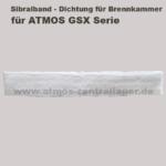 Sibralband der Brennkammer für ATMOS GSX