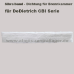 Sibralband der Brennkammer für DeDietrich CBI