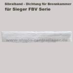 Sibralband der Brennkammer für Sieger FBV