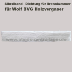 Sibralband der Brennkammer für Wolf BVG