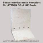 Feuerraum Seitenwand für ATMOS GS / Feuerraum Seitenwand für ATMOS SE