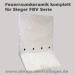Feuerraum Seitenwand für SIeger FBV