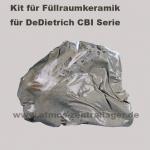 Kit für Füllraumkeramik für DeDietrich CBI Holzvergaser