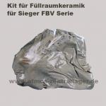 Kit für Füllraumkeramik für Sieger FBV Holzvergaser