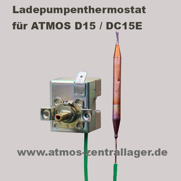 ATMOS Ladepumpenthermostat für D15