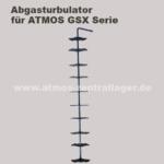 Abgasturbulator für ATMOS GSX