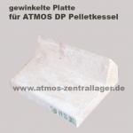 Keramikplatte mit Ausschnitt für ATMOS Pelletkessel