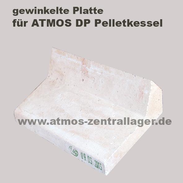 gewinkelte Platte für ATMOS DP Pelletkessel