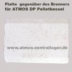 Brennraum Aufsatzplatte für ATMOS Pelletkessel