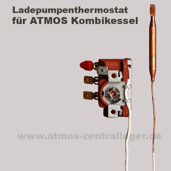 ATMOS Ladepumpenthermostat für Kombikessel