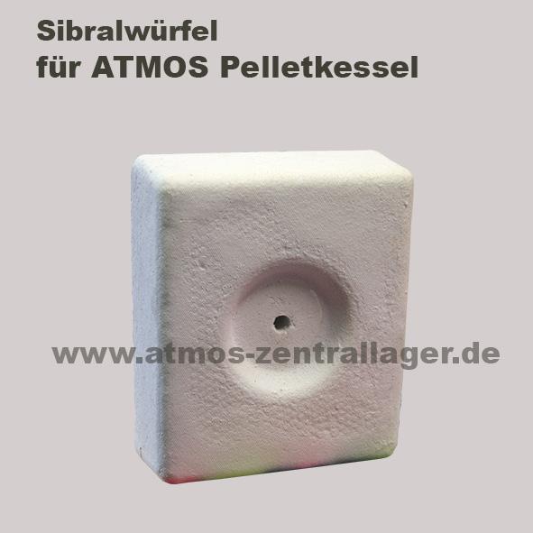 Sibralwürfel für ATMOS Pelletkessel