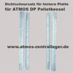 Dichtschnursatz für hintere Platte vom ATMOS DP Pelletkessel