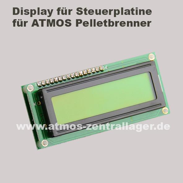 Display für ATMOS Pelletbrenner