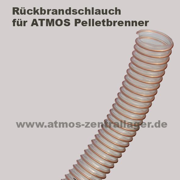 Rückbrandschlauch für ATMOS Pelletbrenner