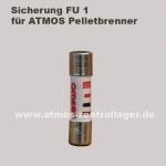 FU 1 Sicherung für ATMOS Pelletbrenner
