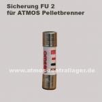 FU2 Sicherung für ATMOS Pelletbrenner