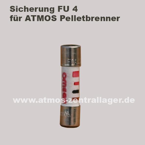 FU4 Sicherung für ATMOS Pelletbrenner