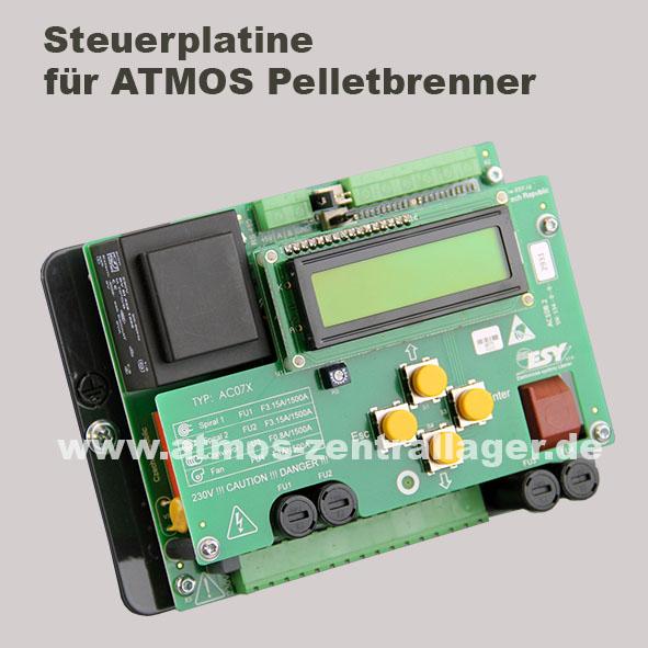 Steuerplatine für ATMOS Pelletbrenner