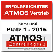 Sieger FBV Ersatzteile vom ATMOS Zentrallager dem Generalvertrieb Deutschland