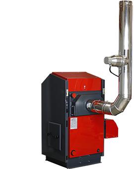 Partikelabscheider für ATMOS Pelletkessel und Holzvergaser