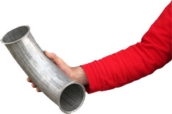ATMOS Pelletleitung Rohrsystem
