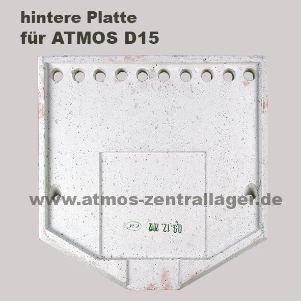 Hintere Platte für ATMOS D15
