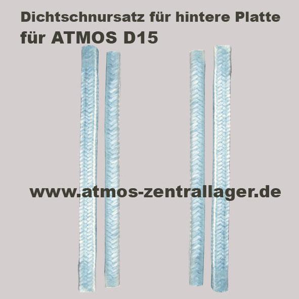 Füllraumdichtschnursatz für ATMOS Holzvergaser
