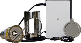 lieferumfang des Partikelabscheiders für ATMOS Heizkessel