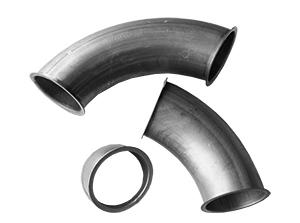 Pelletleitung Rohrsystem - Bogen in 10° 15° 30° 45° 60° und 90° Ausführung