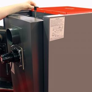 So wird der Wärmetauscher beim ATMOS PX20 Pelletkessel gereinigt