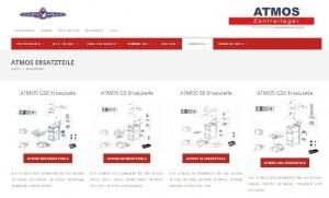 Shorcut von der Seite ATMOS Zentrallager - Ersatzteile