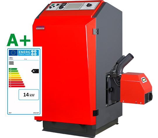 Energielabel für Festbrennstoffkessel - ATMOS Zentrallager GmbH