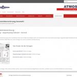 ATMOS Schornsteinberechnung-Auswahl