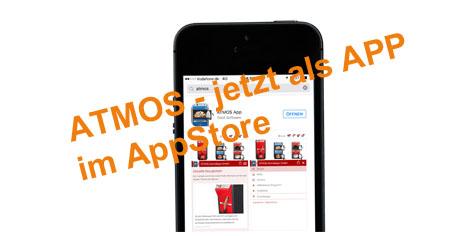 ATMOS - jetzt im AppStore