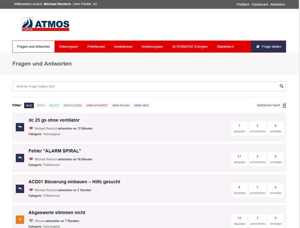 das ATMOS Forum
